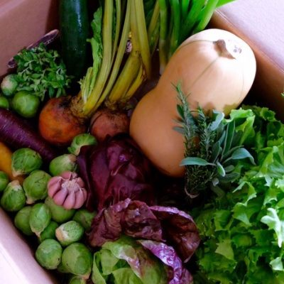 vegan farm box